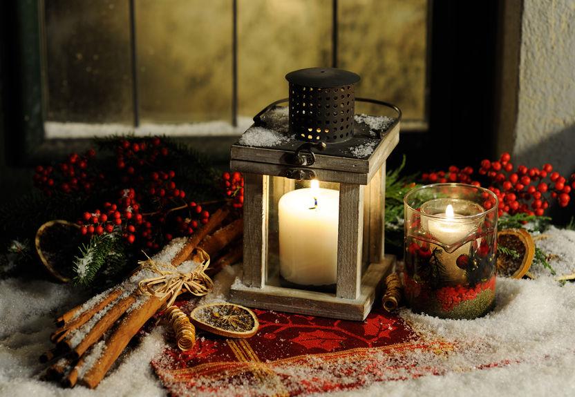 12月  December クリスマス キャンドル